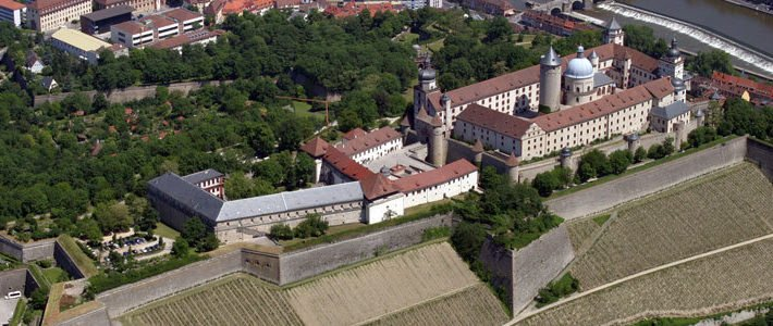 Luftbild Tagungszentrum Festung Marienberg (c) Stadt Würzburg · Baureferat
