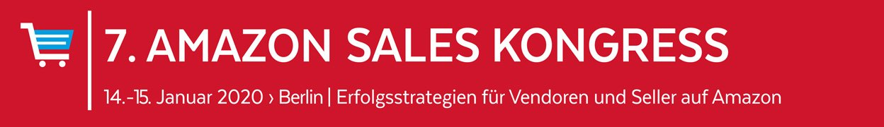 7. Amazon Sales Kongress 2020